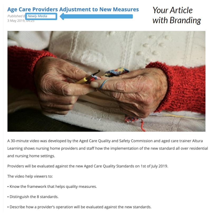 Premium Article Listing