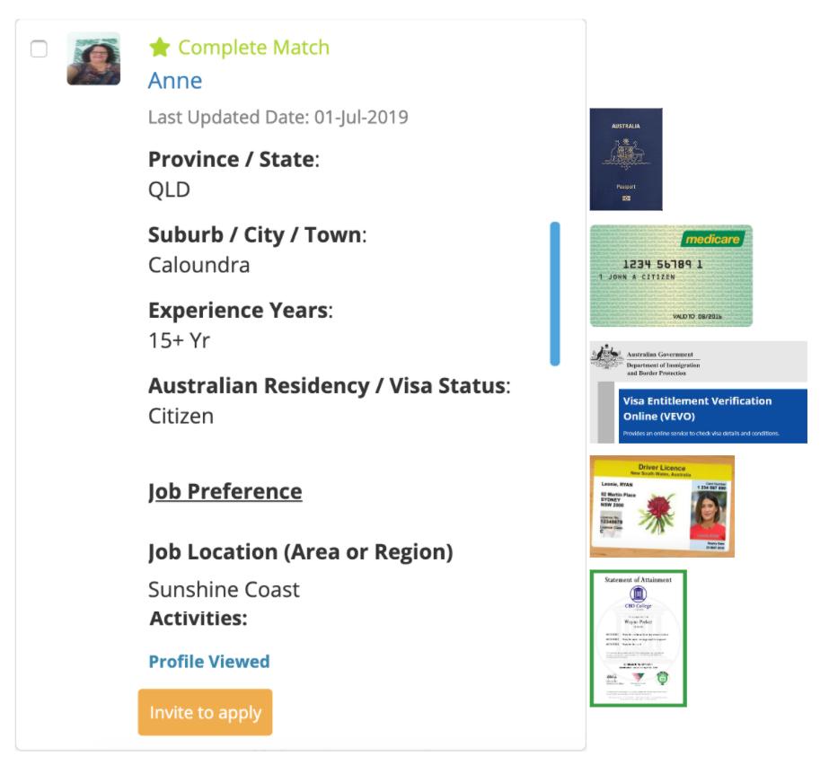 Premium Candidate Connect